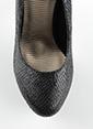 Bej Ayakkabı Siyah